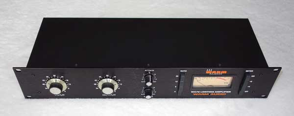 WARM AUDIO WA76 COMPRESSOR / LIMITER [Classic 1176 Revision D]  w/Original Reichenbach/CineMag Transformer Design