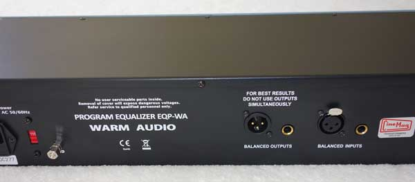 Warm Audio EQP-WA Tube EQ Pultec-Style Tube Equalizer