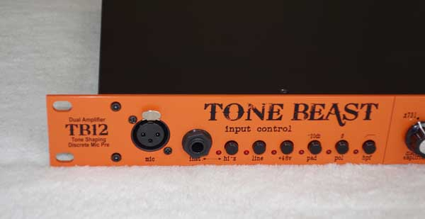 WARM AUDIO TB12 Tone Beast Mic Preamp  w/Dual OpAmps, and Dual Output Transformers