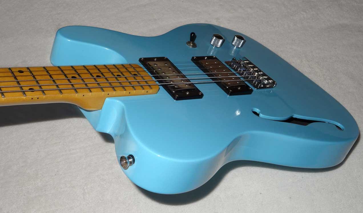 Xaviere LXV-650 Fender Telecaster Thinline Copy w/GFS Dream 180 Pickups