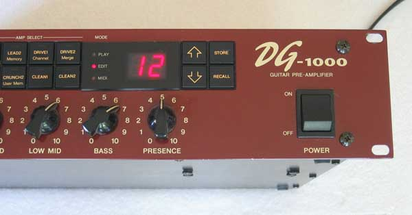 Vintage Yamaha DG-1000 Guitar Preamp