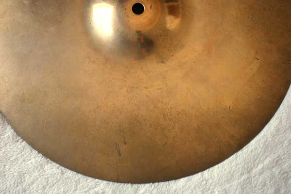 "Vintage 1998 Zildjian 14"" Z Dyno Beat Hi Hat Bottom Extra Heavy Weight = 1700 grams"